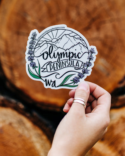 Olympic Peninsula - STICKER