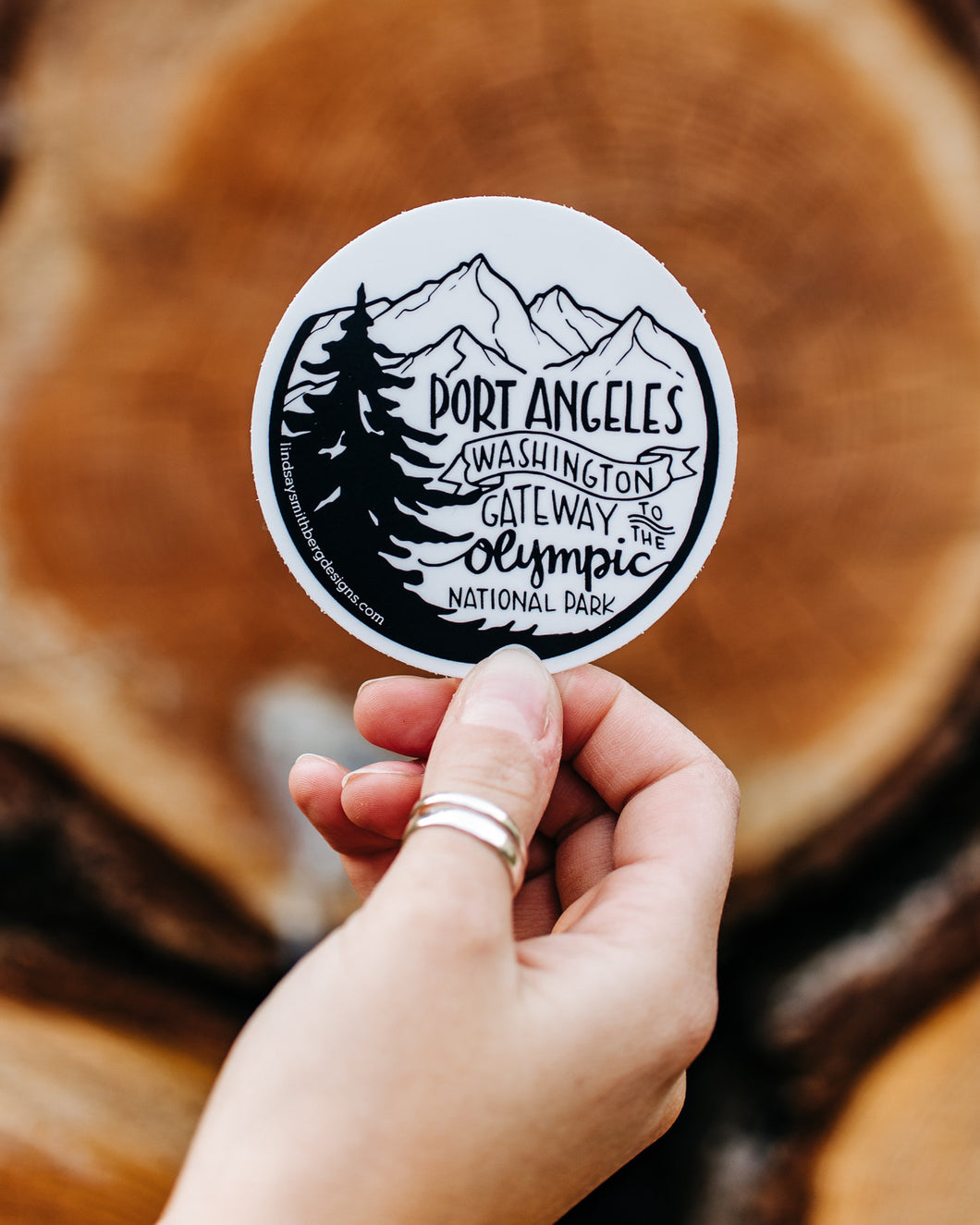Gateway to the Olympic National Park - STICKER