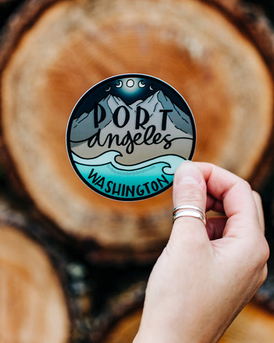 Port Angeles, Washington - STICKER