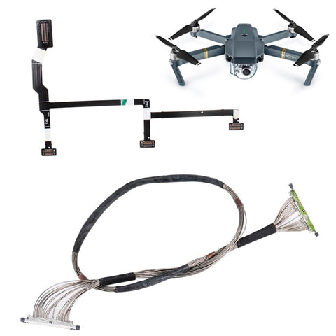 DJI Mavic Pro Signal Cable Gimbal Repair Kits for DJI Mavic Pro Drone Camera Parts PTZ Transmission Video Transmit Flexible Line