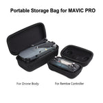 for DJI Mavic Pro Platinum Carrying Case Foldable Drone Body and Remote Controller Transmitter Bag Hardshell Housing Bag Storage