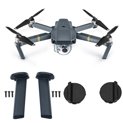 Left Right Landing Gear kits Front Back Leg for DJI Mavic Pro Drone Motor Cover Engine Cover Base Feet Replacement Spare Parts