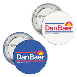 Campaign Buttons (Set of 4)