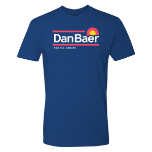 Dan Baer For U.S. Senate T-Shirt (Royal Blue)