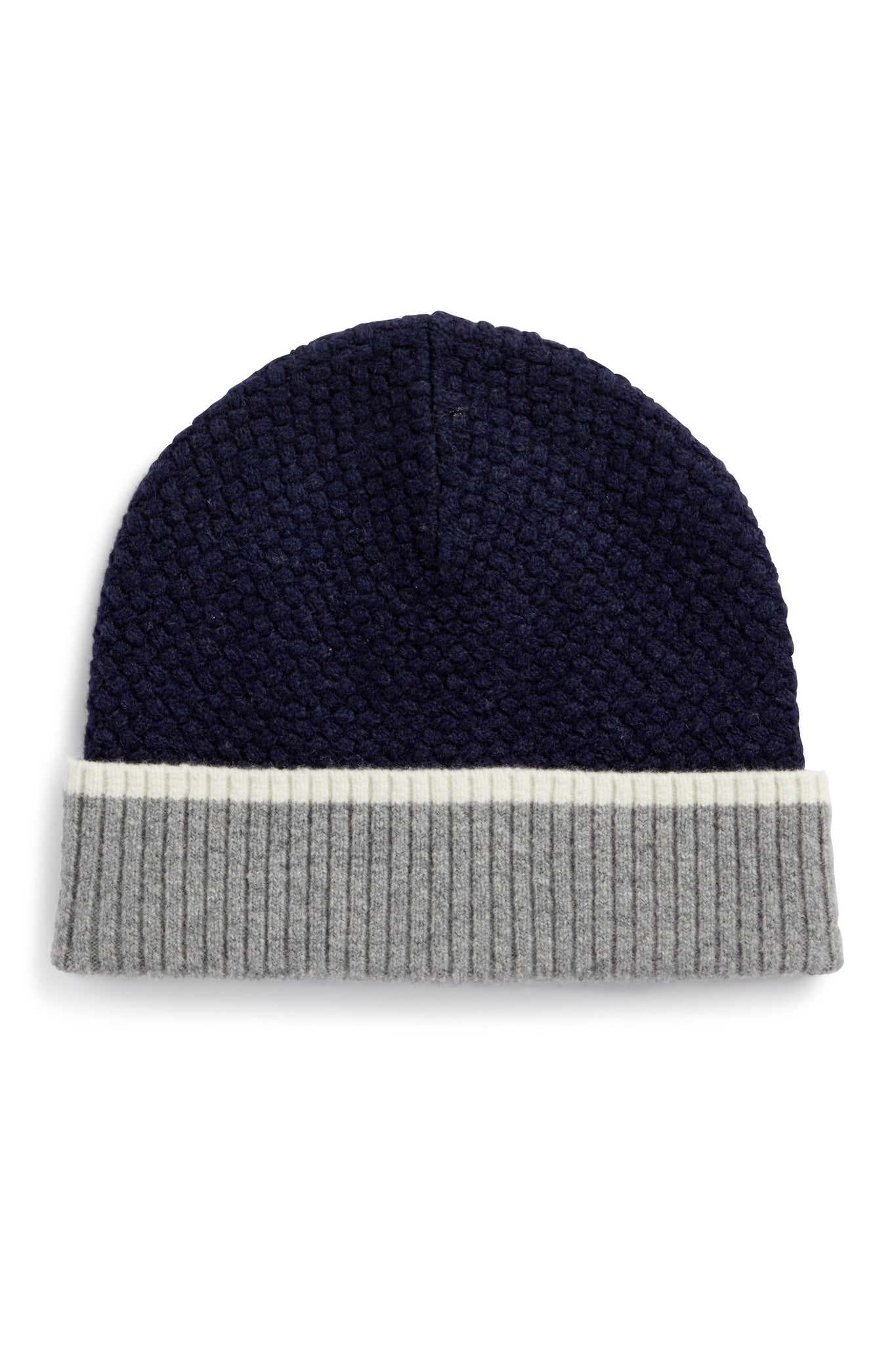 Basketweave Block Beanie