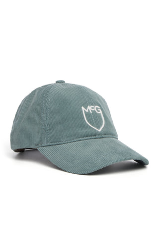 Corduroy Cap with Shield