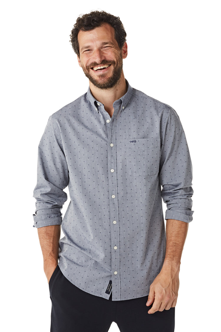 Cotton Dobby Shirt Slim Fit