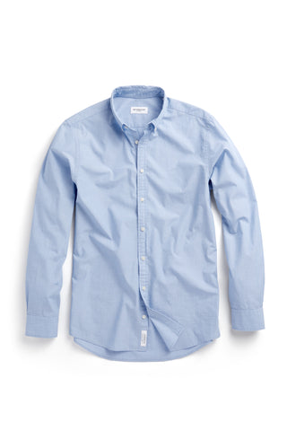 Cotton Shirt with Fil a Fil in Regular Fit