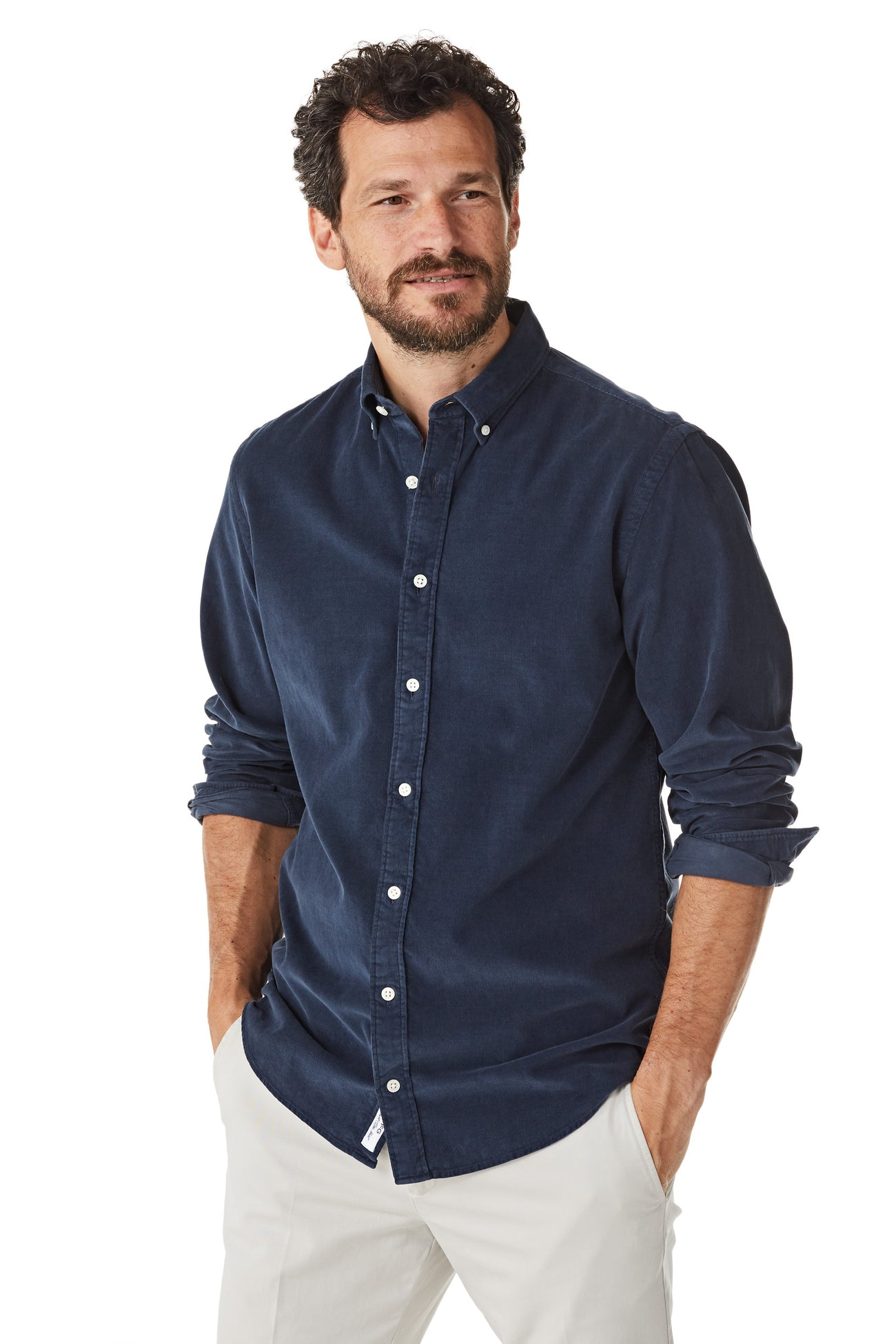 Fine Corduroy Shirt Regular Fit