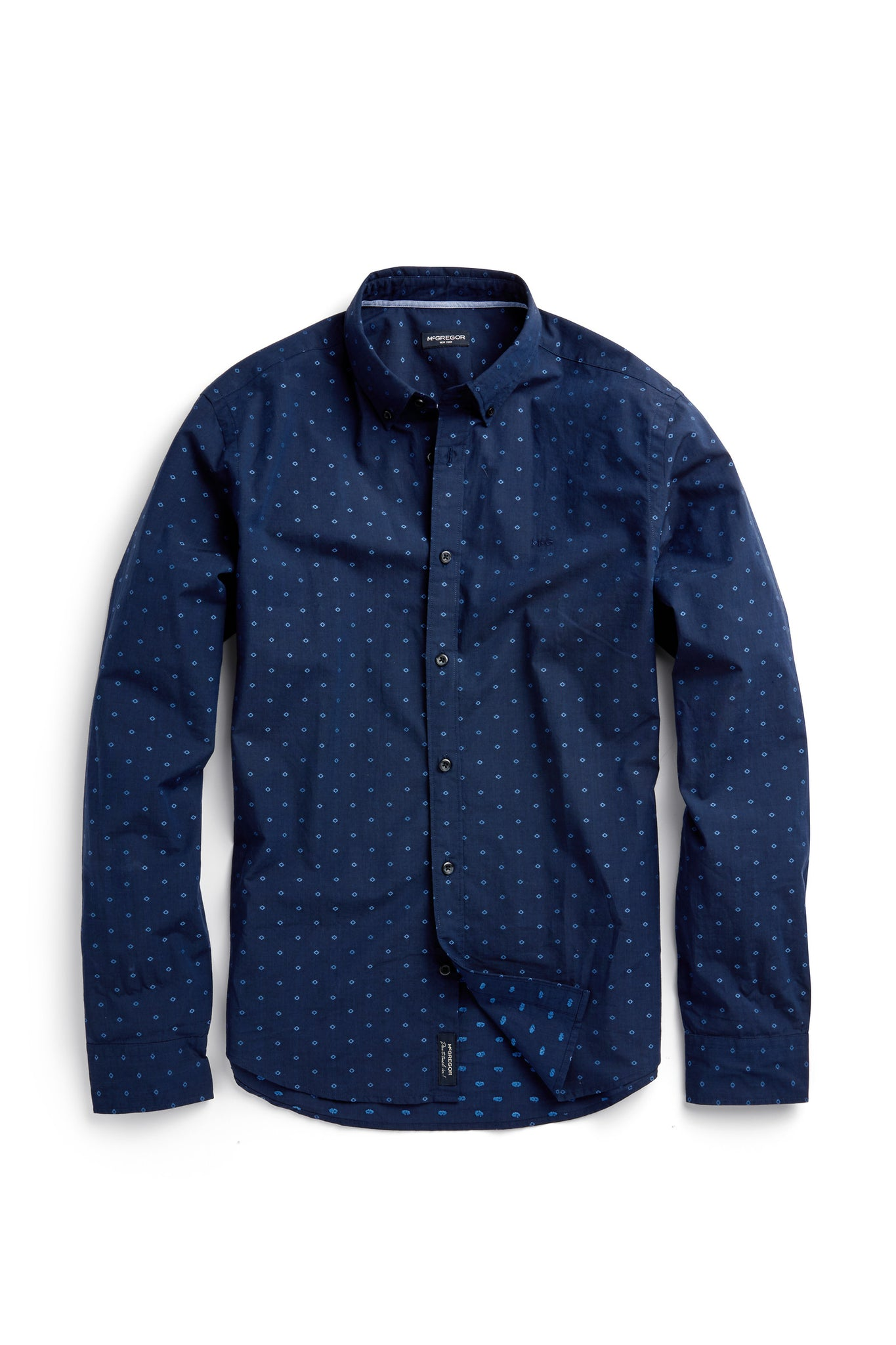 Cotton Jacquard Shirt Regular Fit
