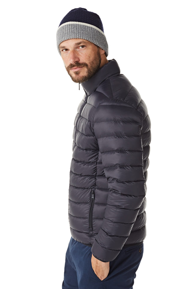 Lightweight Down Bomber Blue