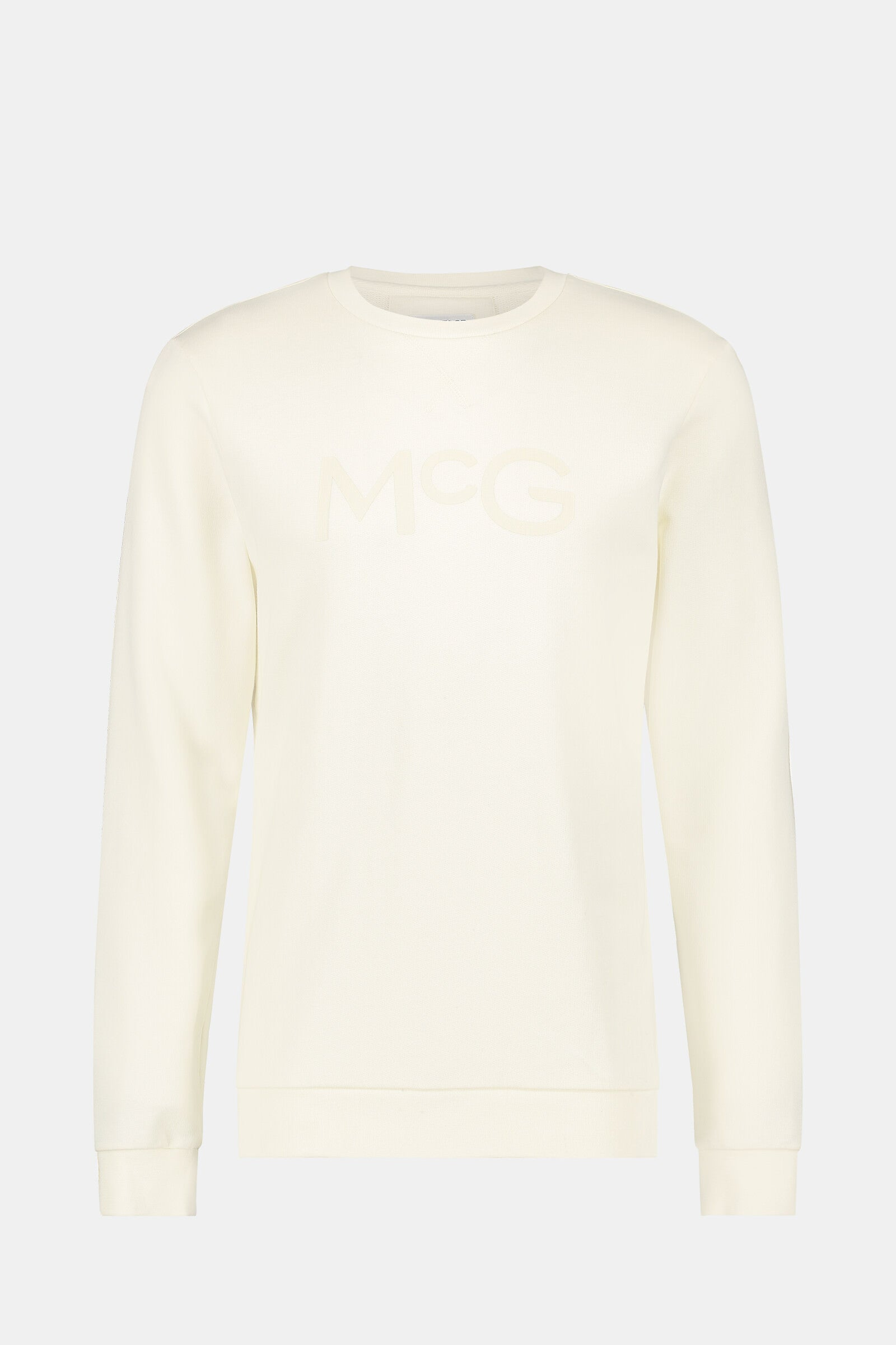 Crew neck sweater with logo