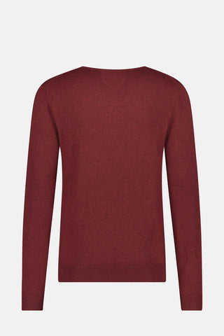Essential V-neck Sweater in wool blend