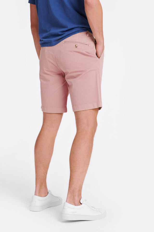 Regular Fit garment dyed Chino Shorts