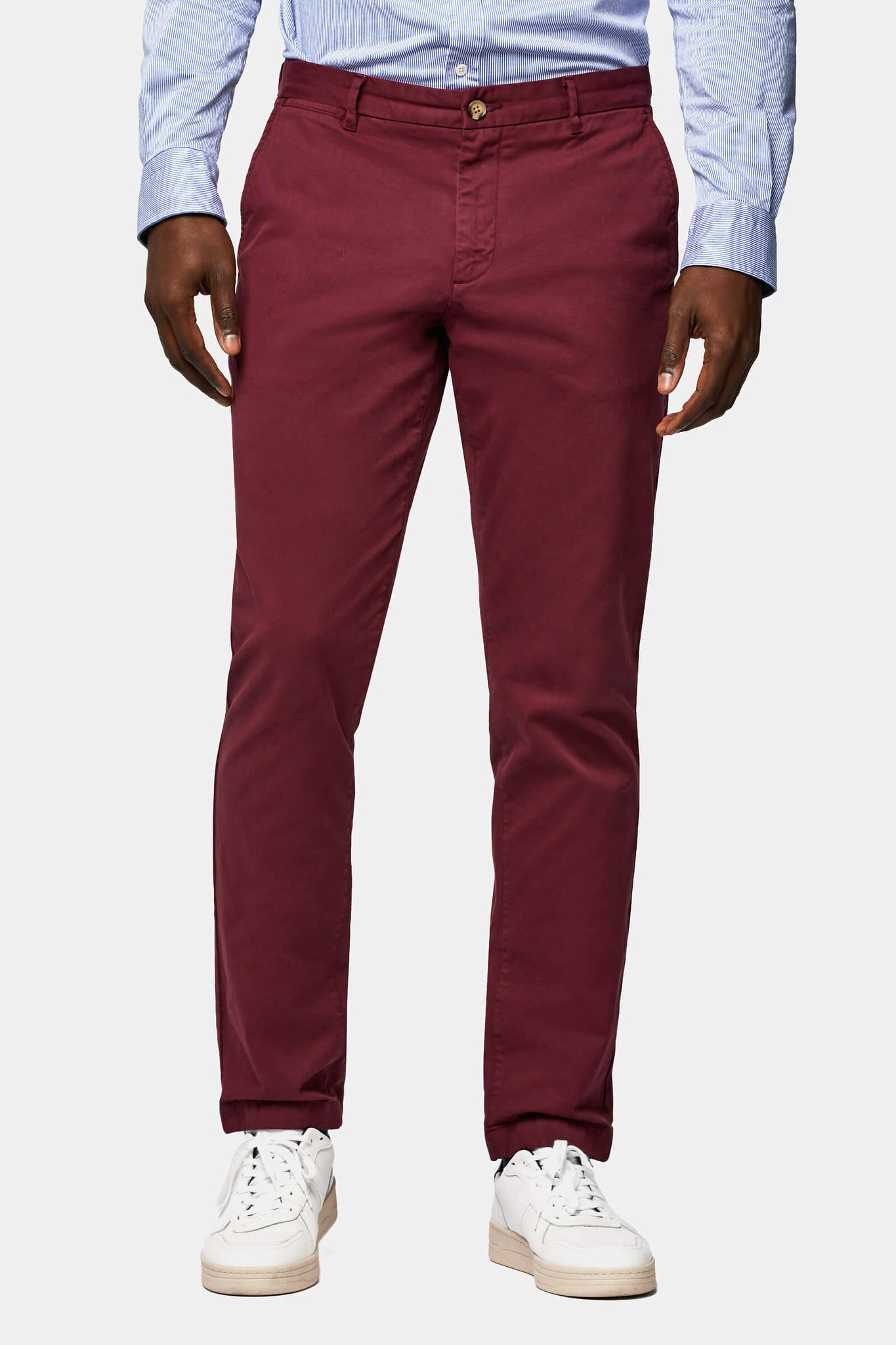 Garment dye regular fit chino