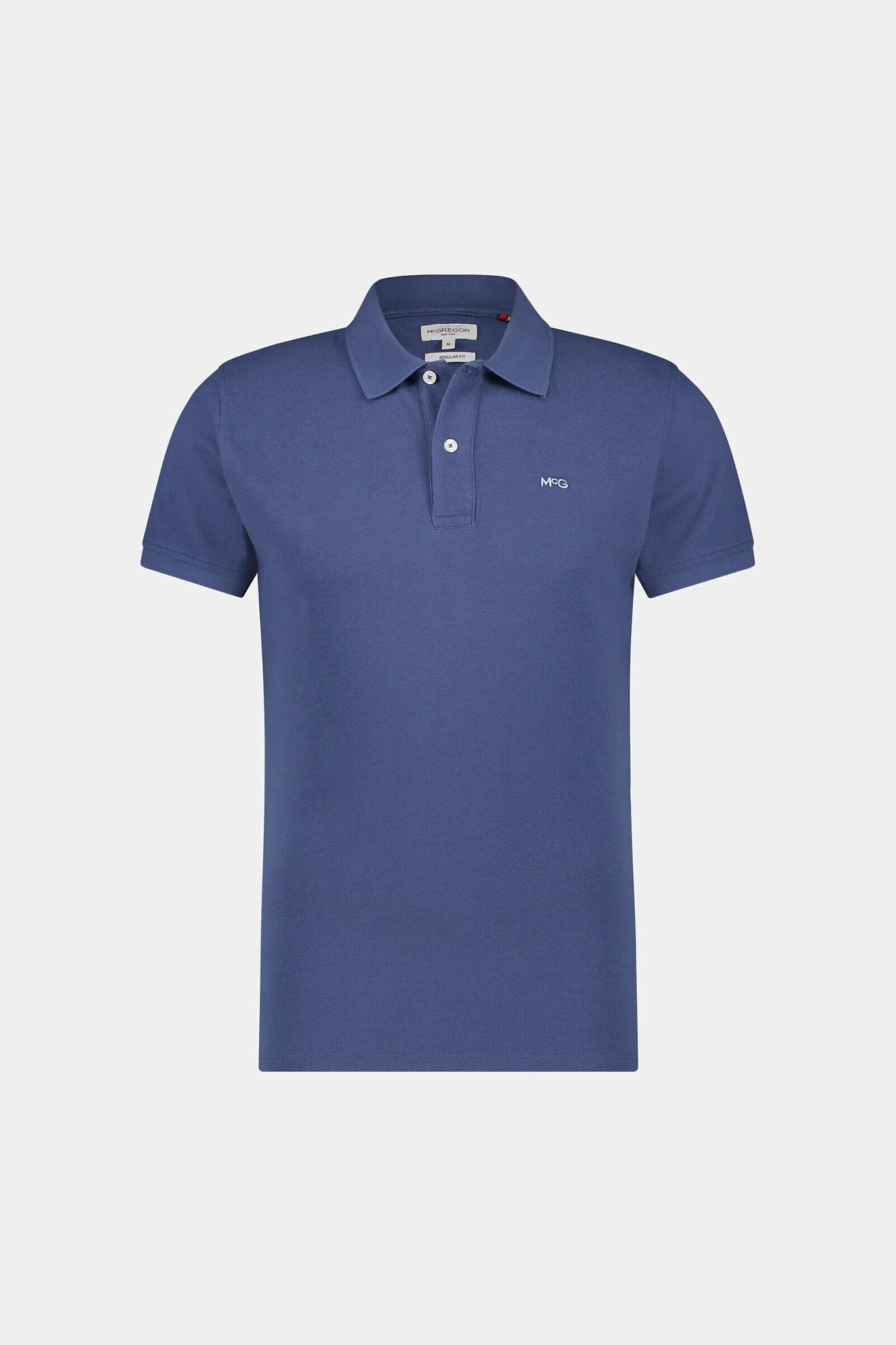 Regular fit pique polo
