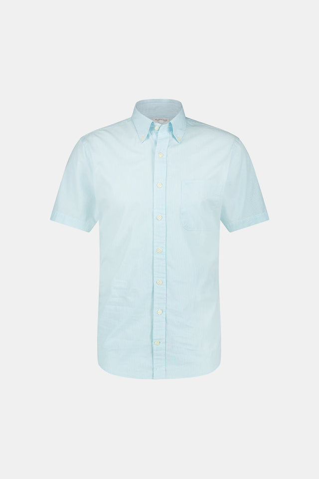 Regular fit  Fine Stripe Shirt short sleeve