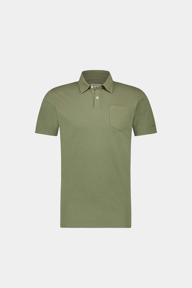 Regular Fit garment dyed Jersey Polo