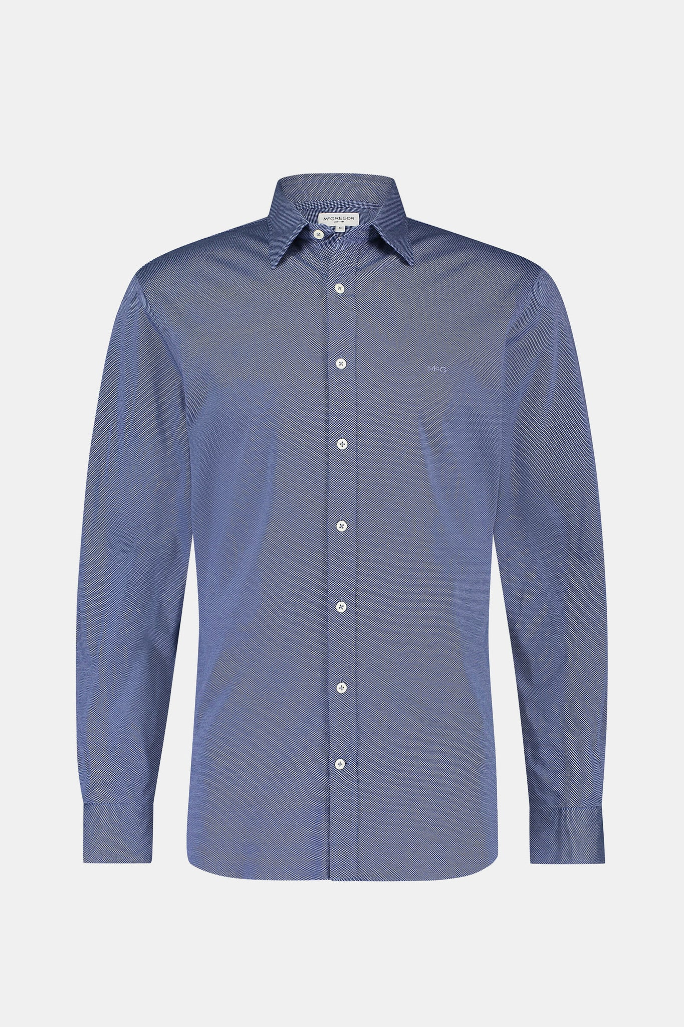 Regular fit Jersey Mini Jacquard Shirt