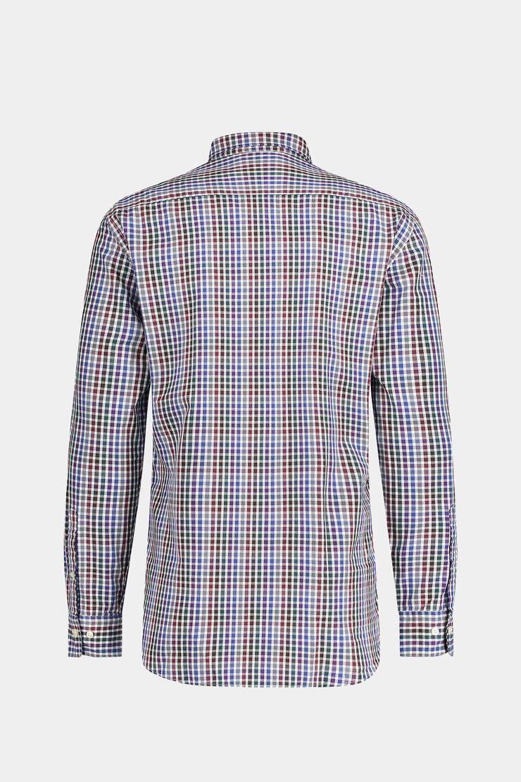 Regular Fit Multi Check Shirt