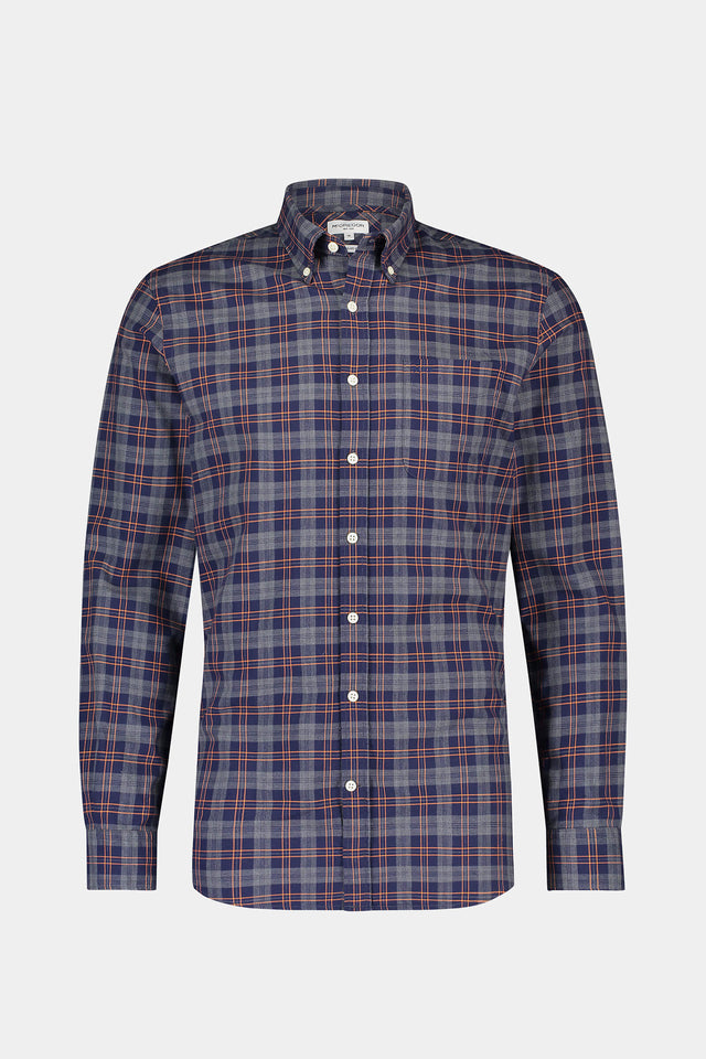 Regular fit Windowpane Check Shirt