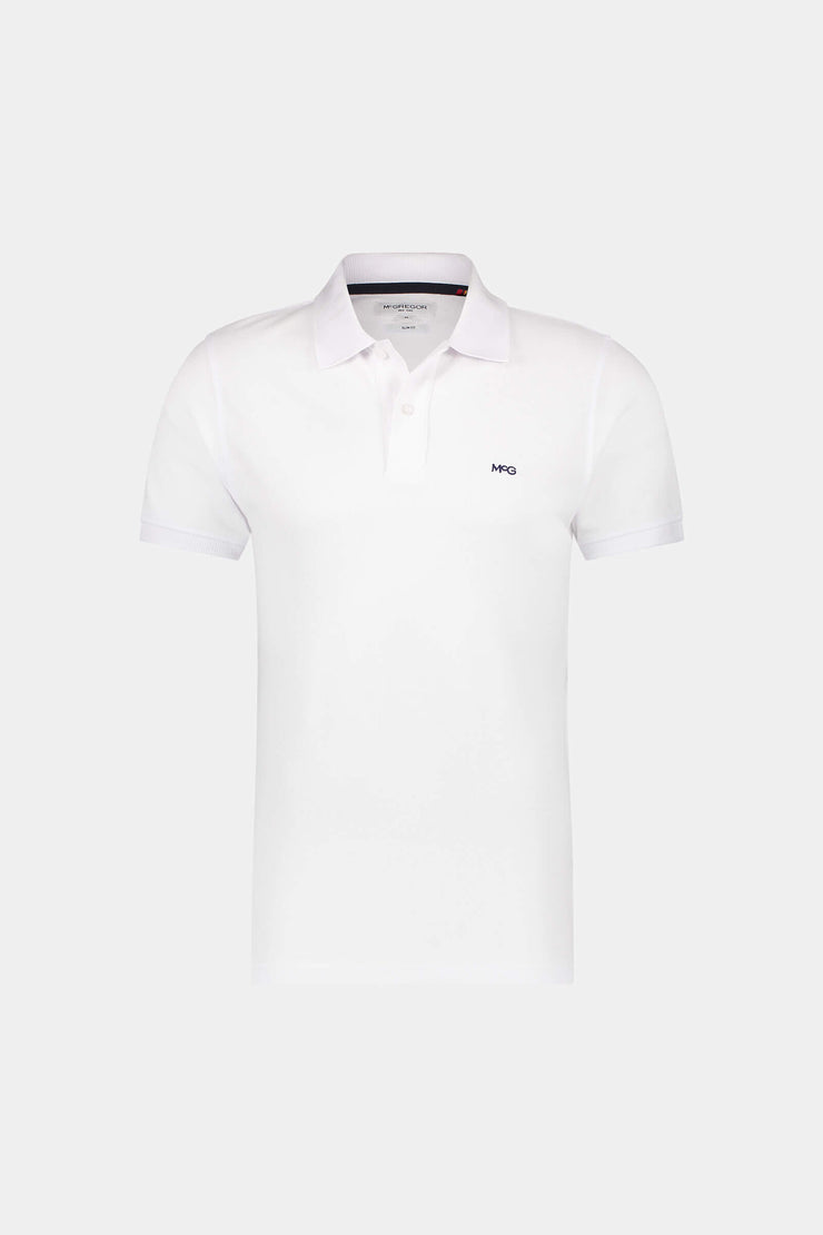 Slim fit classic pique polo