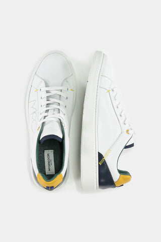 White Color-blocked sneakers with McG logo