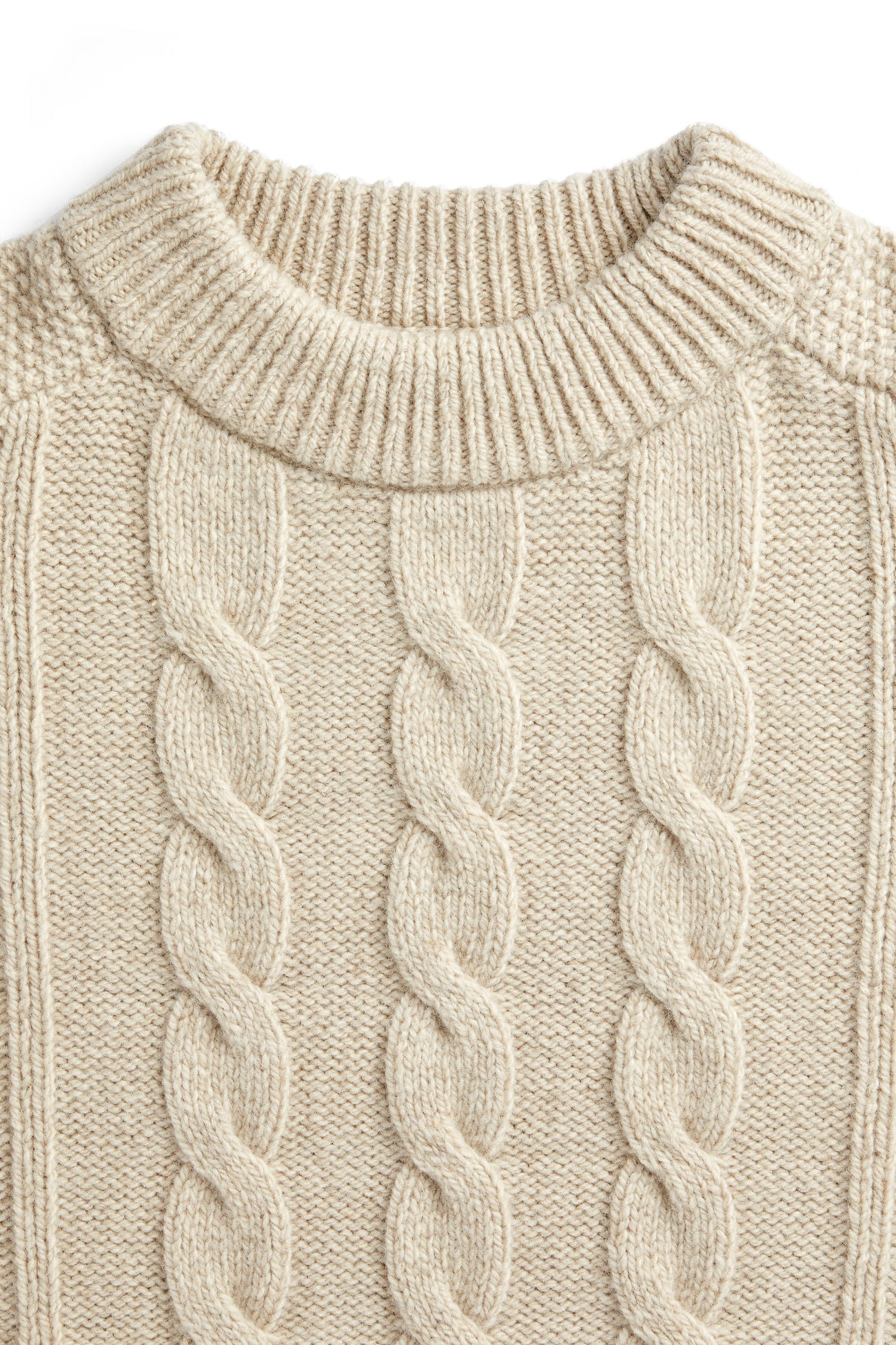 McHarris Cable C-Neck Sweater