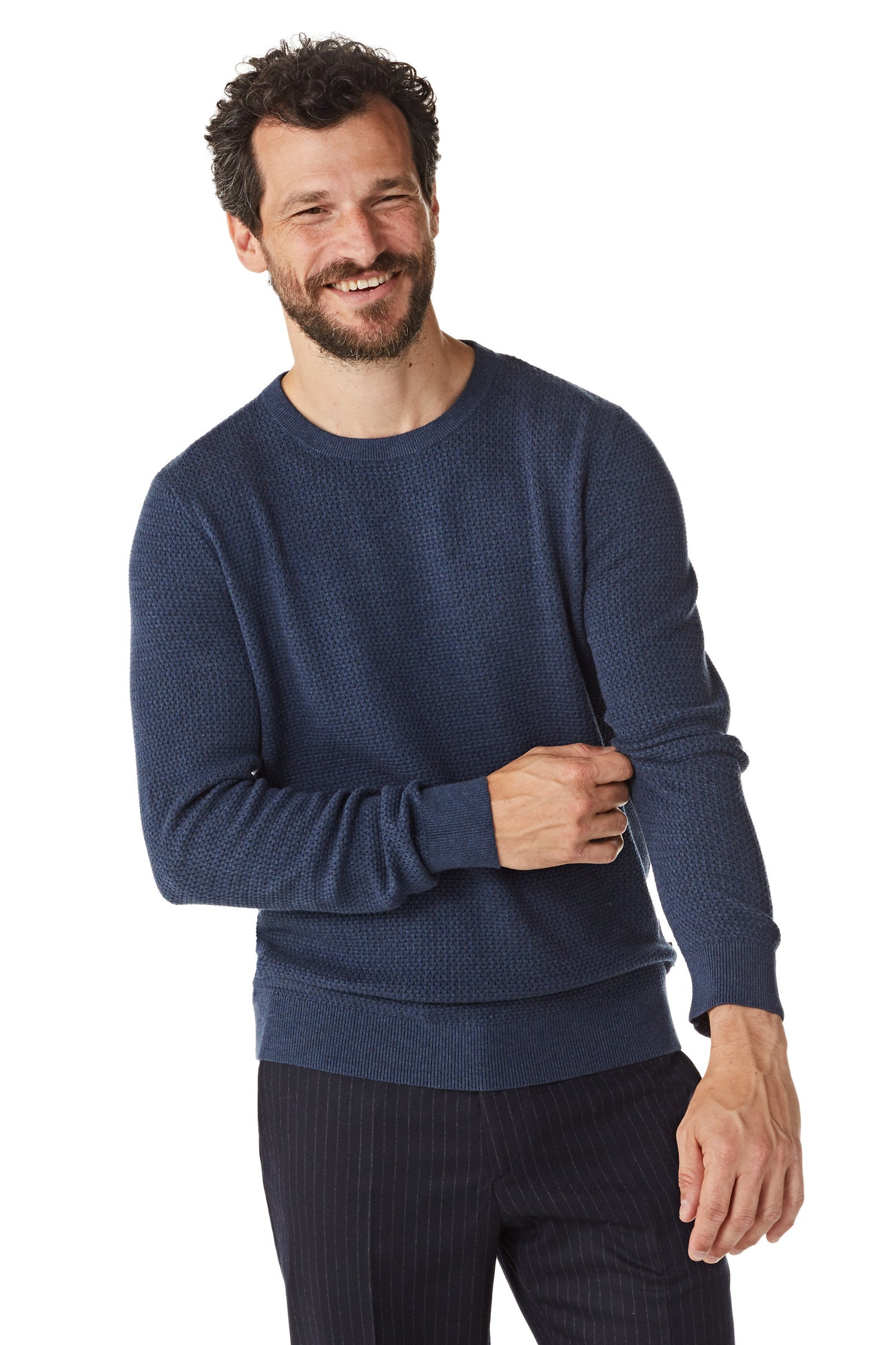 Cotton Sweater with structure