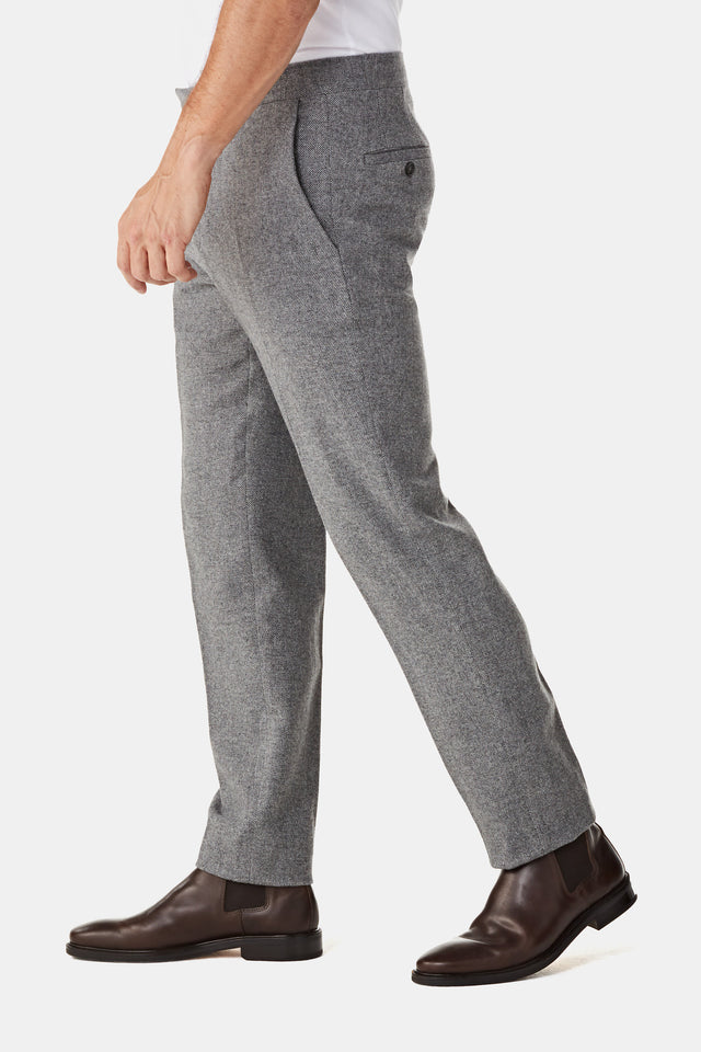 Solid Wool Pant