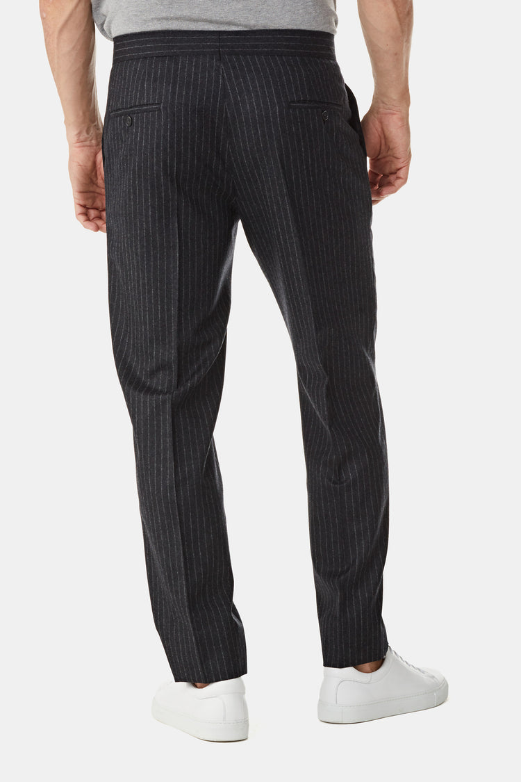 Stripe Wool Pants