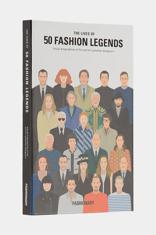 The Lives of 50 Fashion Legends Book