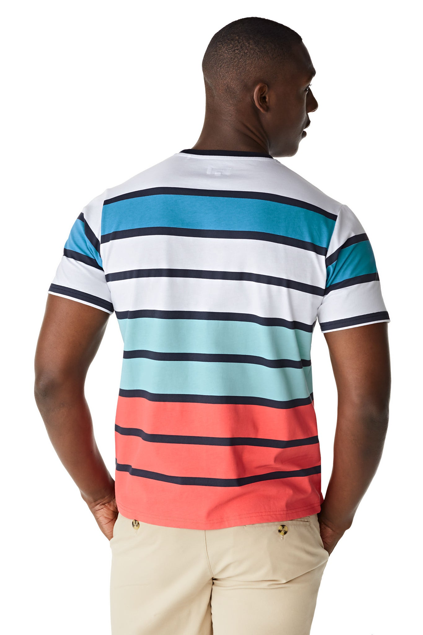 McG Regular fit T-shirt with color-block stripes