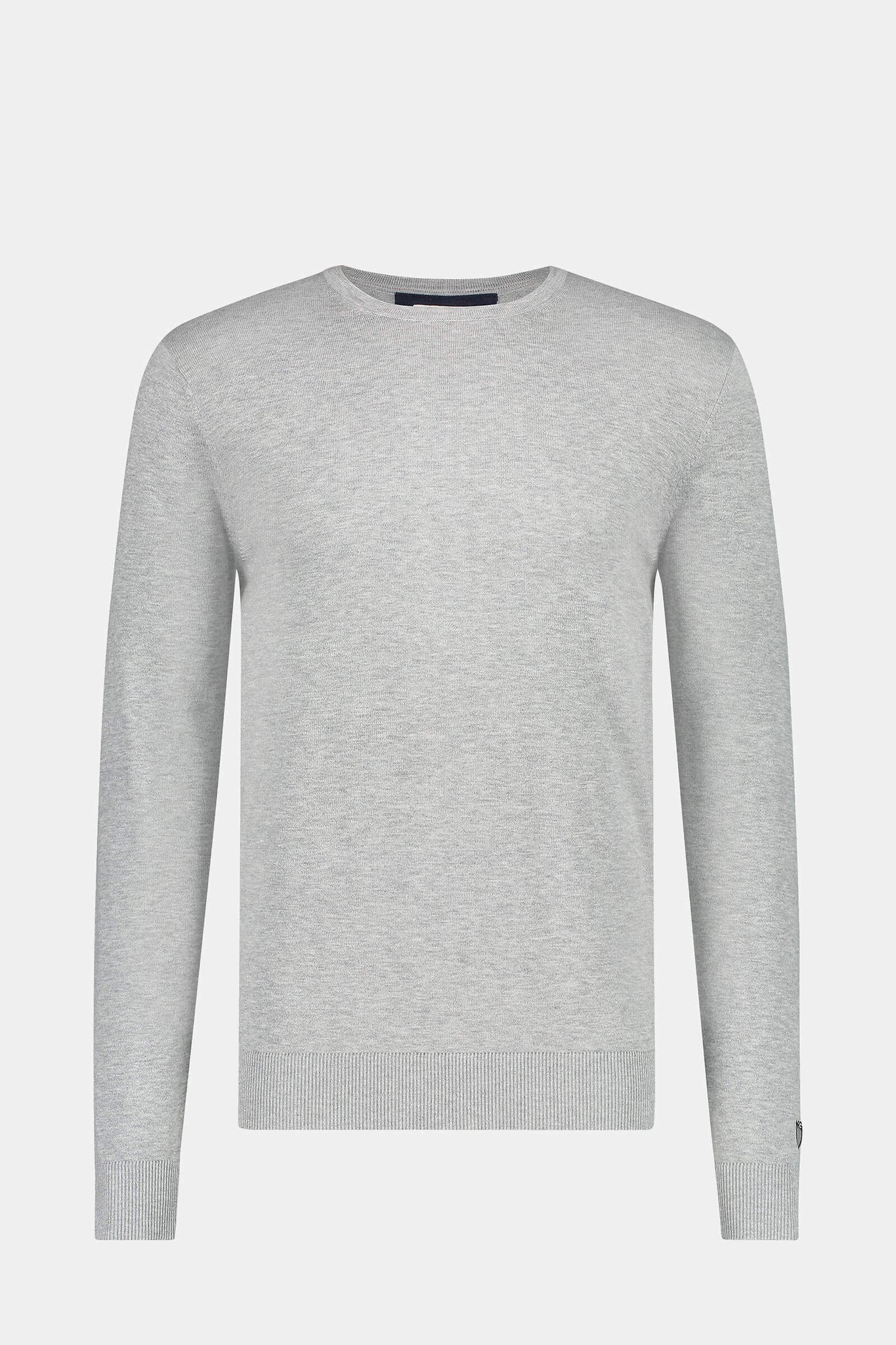 McG Crew neck sweater in cotton silk blend
