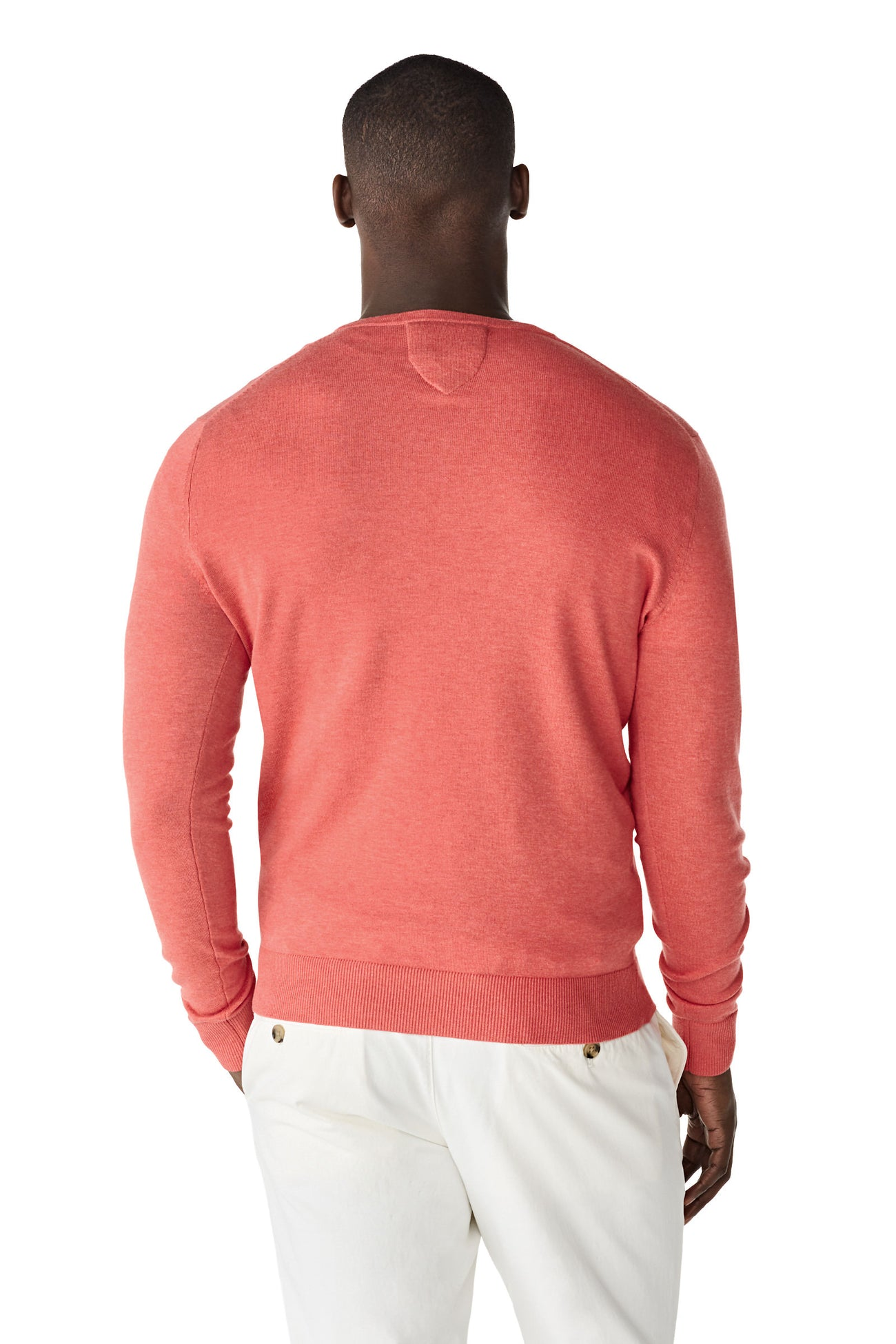 The McG Cotton Silk V Sweater