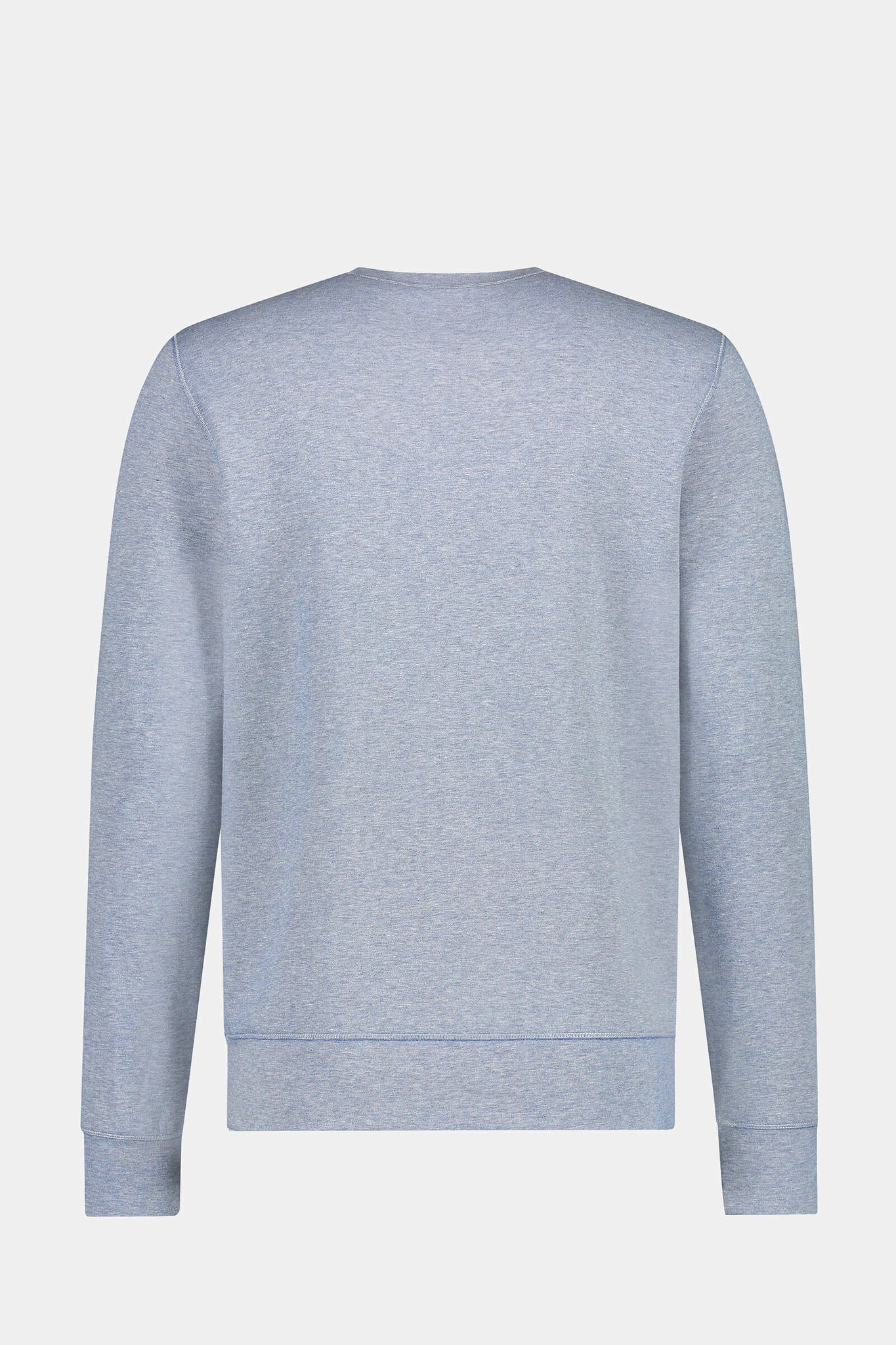 Double face Crew Neck sweat in cotton blend