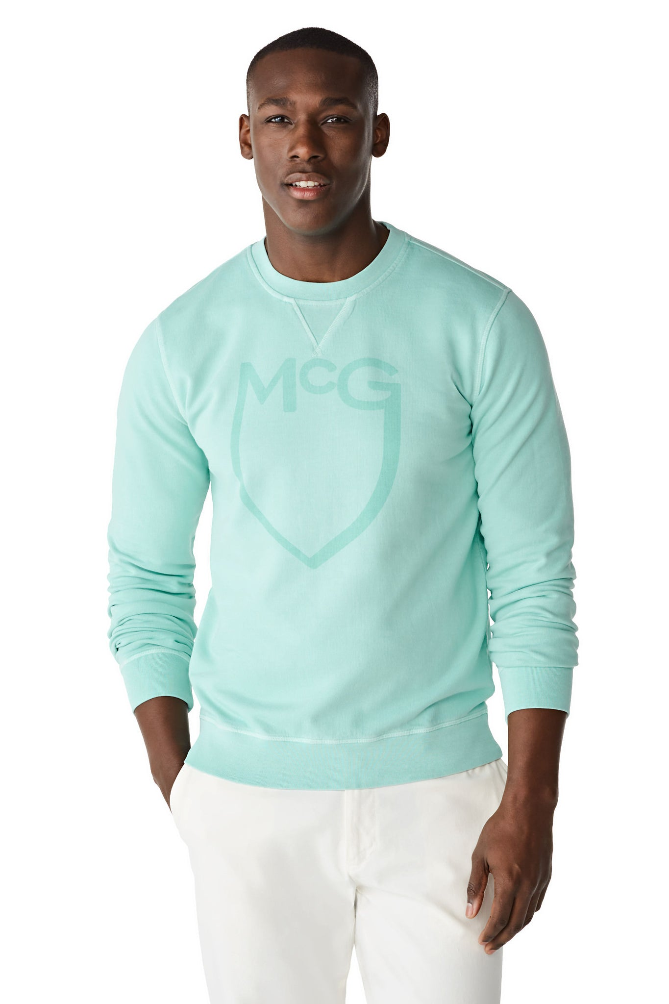 McG Crew neck sweater with logo