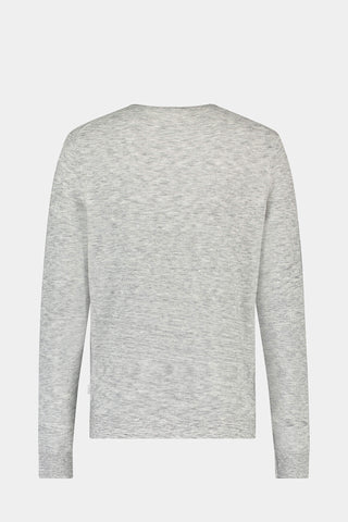 McG Crew neck sweater with honeycomb structure