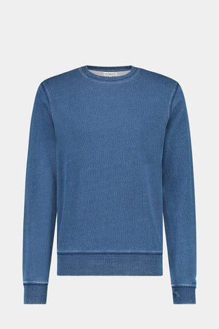 McG Indigo crewneck sweater