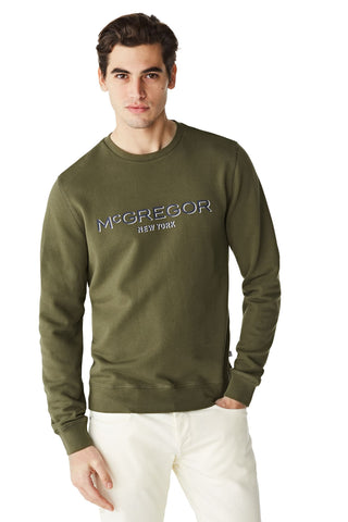 McG Crew neck sweatshirt with logo