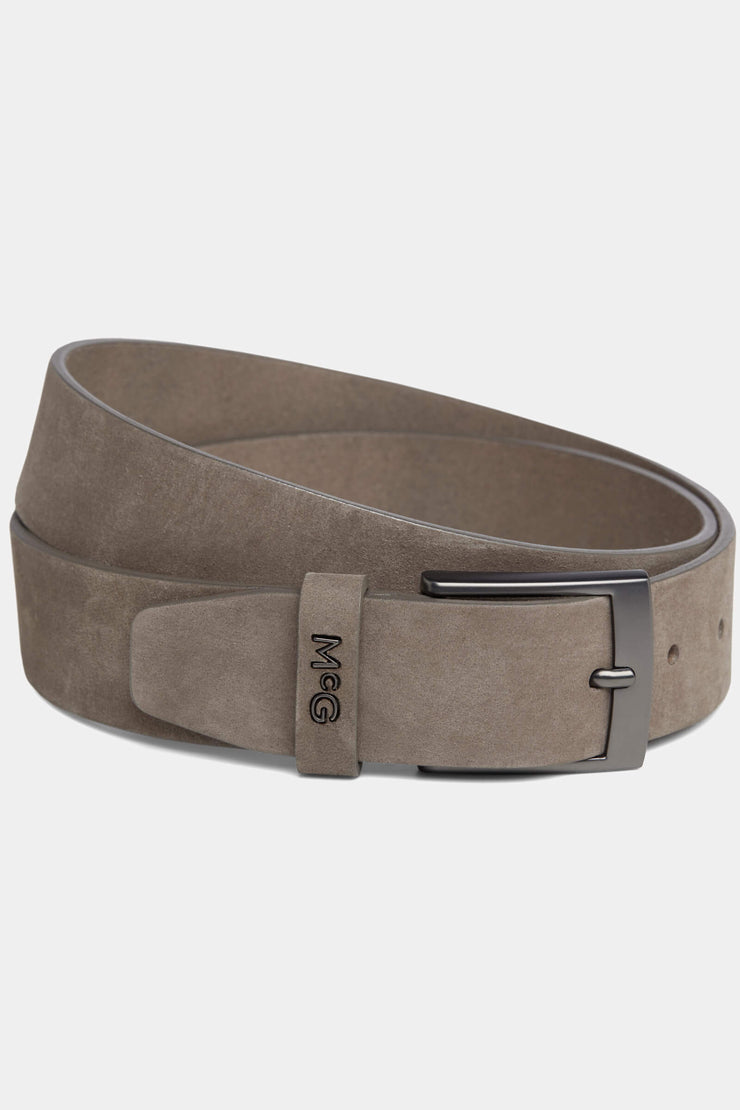 Belt matte leather