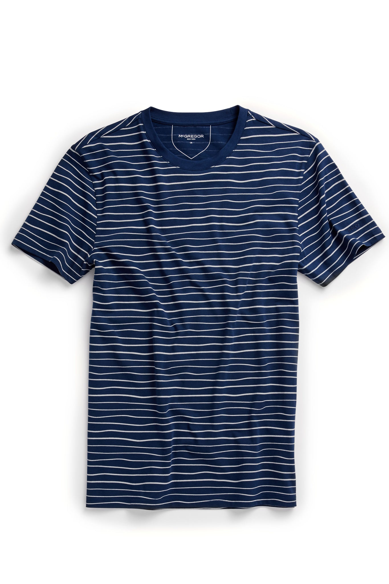 The McG Printed Stripe Tee S/s