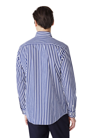 McG Regular fit coarse striped shirt