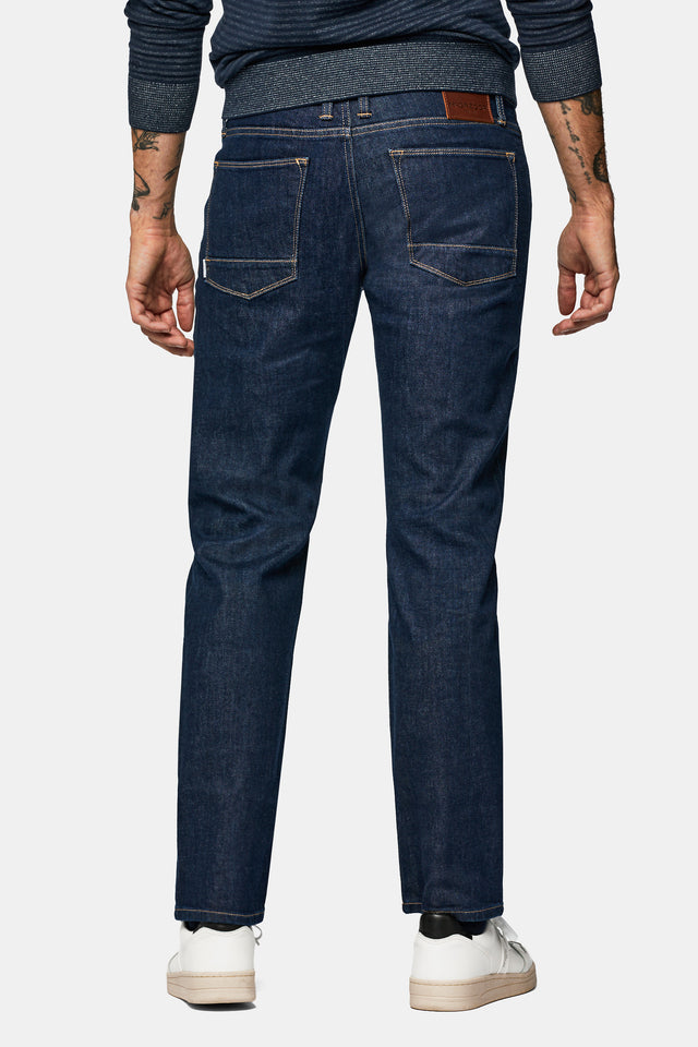 Regular fit jeans in rinse wash