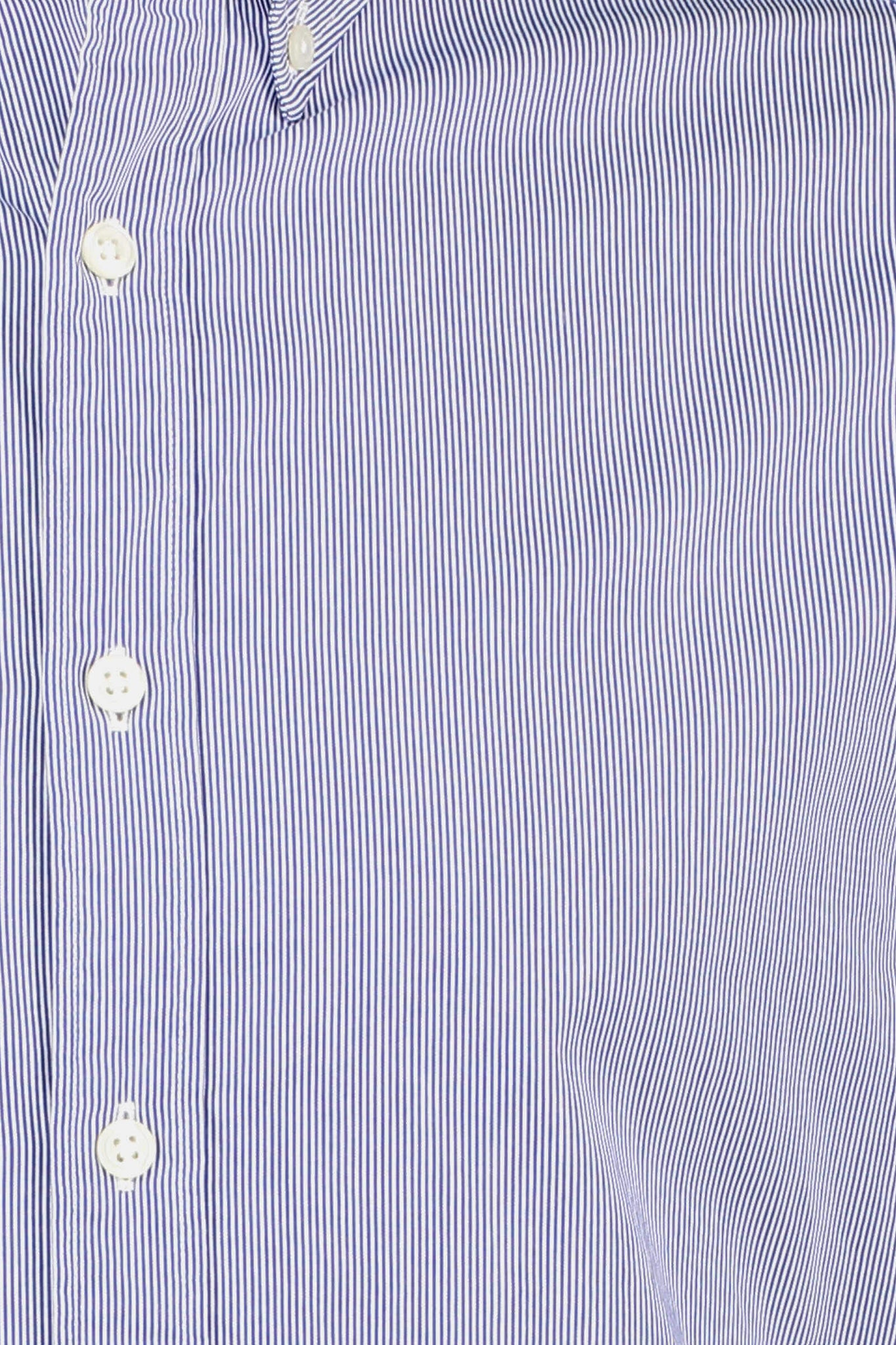 Regular fit fine striped shirt