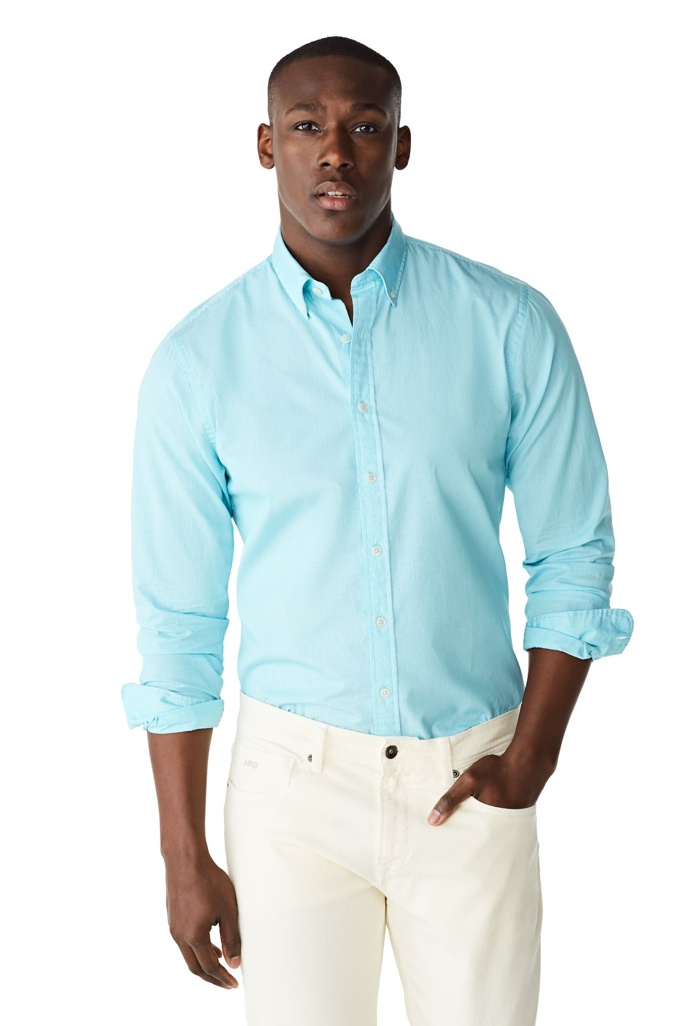 McG Regular fit finely striped shirt