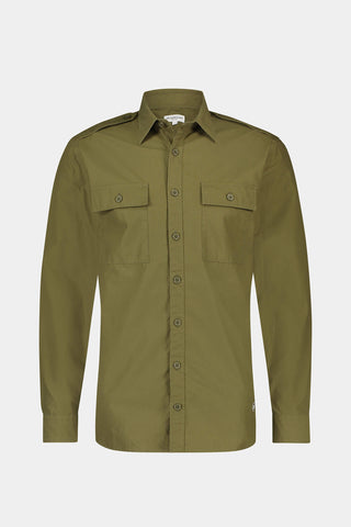 Regular fit utility shirt