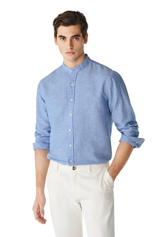 McG Regular fit shirt with Mao collar