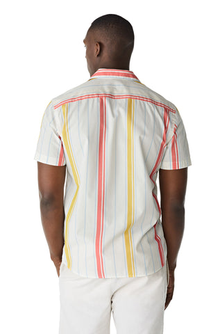 McG Regular fit shirt with retro stripes