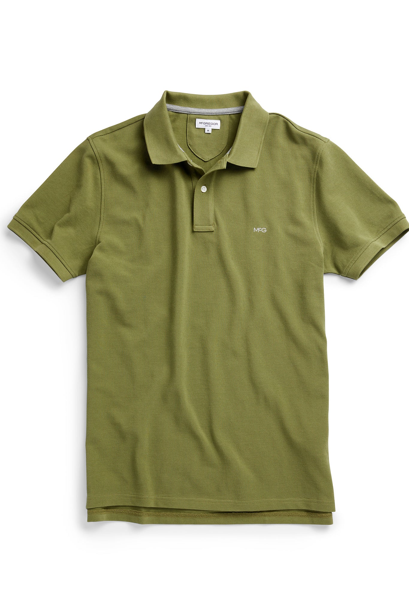 McG Regular fit cotton pique polo